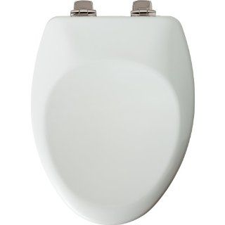 Mayfair 164NISL 000 Slow Close High Density Molded Wood Toilet Seat