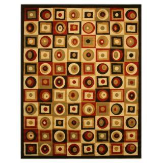 Pat Geo Abstract Red Rug (710 x 106)