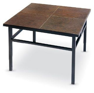 Slate   top End Table Furniture & Decor