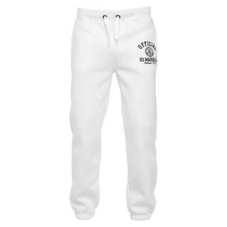 US MARSHALL Jogging Homme Blanc et noir Blanc et noir   Achat / Vente