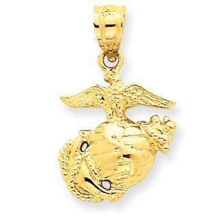 14k Us Marine Corps Pendant Jewelry