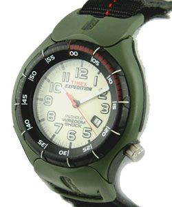 Timex Mens Expedition 200M Shock Dial Fast Strap Watch