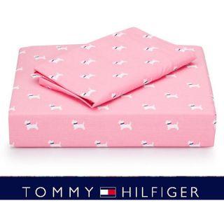 Tommy Hilfiger Park Avenue Scottie 200 TC Sheet Set (Twin/Twin XL