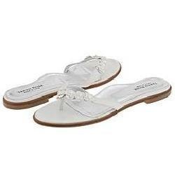Taryn Rose Rivas Silver Sparkle Sandals