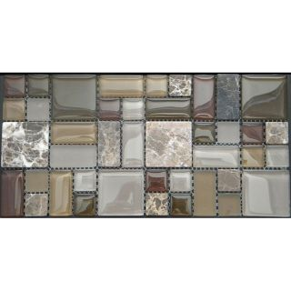 Terra Multi 12 inch Wall Tile Sheets (Pack of 11)