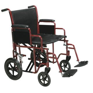 Drive Medical Bariatric Heavy duty Transport Wheelchair with Swing
