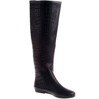 Henry Ferrera Womens Knee High Rain boot