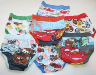 Disney Pixar Cars 2 Boys Toddler Briefs 7 Pair   7