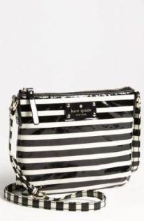 kate spade new york stripe nylon tenley crossbody bag