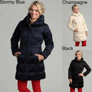Larry Levine Womens Down Filled Jacket