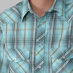 Gioberti by Boston Traveler Boys Plaid Shirt