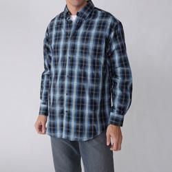 Gioberti by Boston Traveler Mens Plaid Shirt