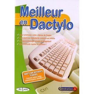 MEILLEUR EN DACTYLO   Achat / Vente PC MEILLEUR EN DACTYLO   PC/MAC