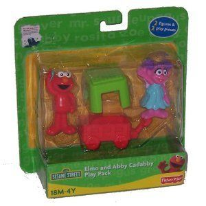 Sesame Street Elmo & Abby Cadabby Play Pack Explore
