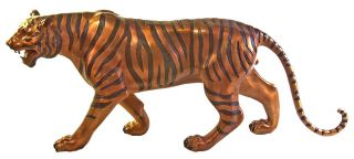 Tiger Life size Statue