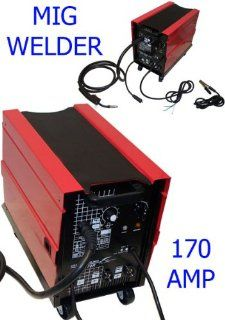 170 AMP MIG MAG Arc Flux Wire Welder Welding Gas