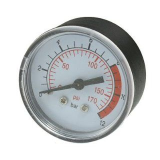 Amico 0.51 Thread Diameter 170 Psi Compressor Barometer Measurement