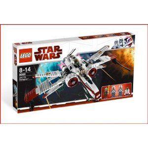 LEGO Star Wars ARC 170 fighter Plastic Flick Firing