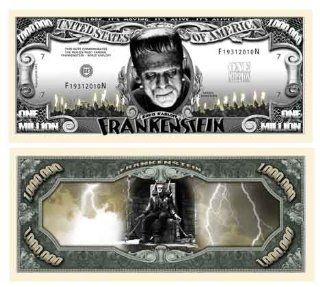 Frankenstein Million Dollar Bill With Bill Protector Toys