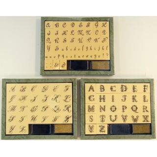 Anna Griffin 112 Alphabet Foam Mounted Rubber Stamp Set