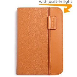 Kindle Lighted Leather Cover, Burnt Orange (Fits Kindle