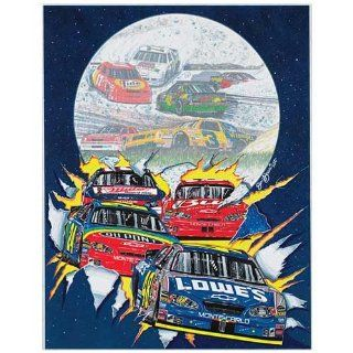 Sam Bass NASCAR Turn the Page Limited Edition Print