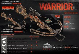 Warrior HL Standard Crossbow Package, 175 Pound