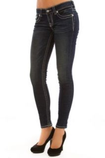 DK 175 Dark Wash Skinny Jeans Clothing