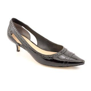 Via Spiga Desperado Kitten Heels Shoes Black Womens New/Disp