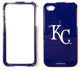 Kansas City Royals Apple iPhone 4 4G 4S Faceplate Case