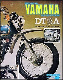 1974 1976 Yamaha DT 100/125/175 Cycleserv Repair Shop Manual Enduro