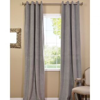 grey velvet blackout curtain panel today $ 99 99 sale $ 89 99 $ 107 99