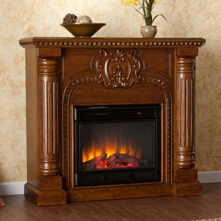 Charnell Oak Electric Fireplace Today: $619.99 Sale: $557.99 Save: 10%