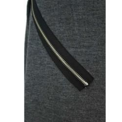 Tabeez Womens Zipper Accent Knit Sweater Dress