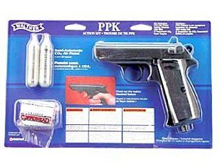Crosman PPK/S Walther Air pistol .177 BB 295 3.5 Blue