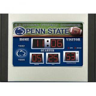 Penn State Nittany Lions Scoreboard Desk Clock