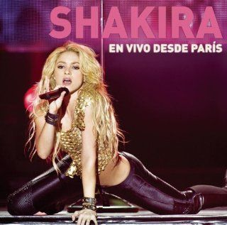 En Vivo Desde Paris (CD/DVD) Shakira Music