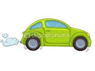 Cartoon Car  Stock Vector © rastudio #8681192