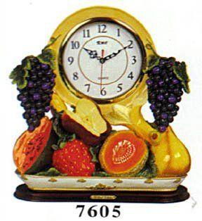 Fruits Mantle Clock DK 7605