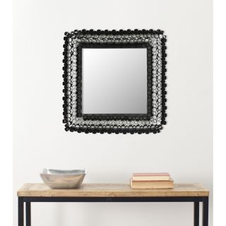 Handmade Arts and Crafts Square Tubes Wall Mirror Today $88.99 Sale
