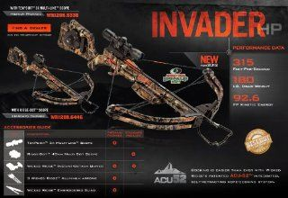 Invader HP Standard Crossbow Package, 180 Pound