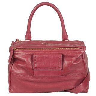 Givenchy Medium Pandora Pink Leather Messenger Bag