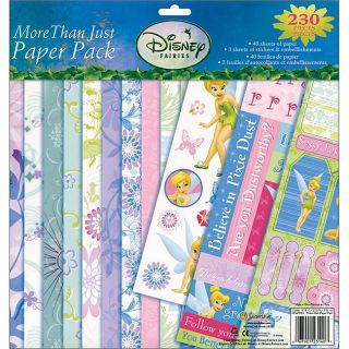 Disney Fairies More Than Just Paper 230 piece Scrapbooking Kit