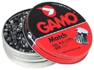 GAMO Flat Nose .177 Caliber Match Pellets (Tin of 500