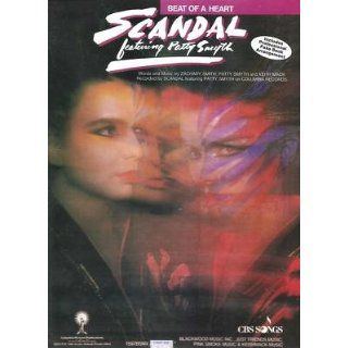 Sheet Music Beat Of A Heart Scandal Patty Smyth 181: Everything Else