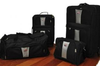American Tourister 4 Piece Luggage Set with Rolling Duffel