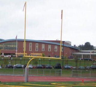 Steel Football Goal Post Ground Sleeve