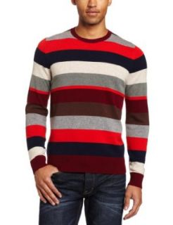 Jack Spade Mens Page Stripe 100% Cashmere Sweater
