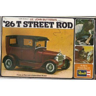 Revell Vintage Lil John Butteras 26 T Street Rod 1/25th Scale Opened
