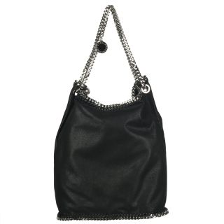 Stella McCartney Black Big Bucket Handbag